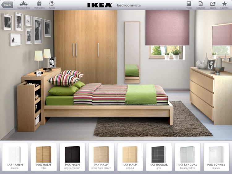 IKEA Bedroom Vista