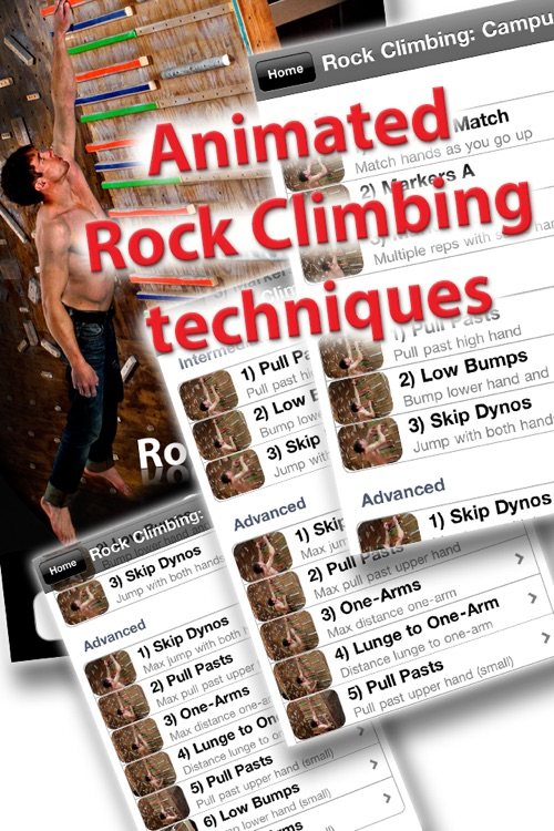 Rock Climbing: Campusing screenshot-0