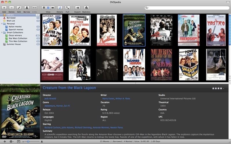 DVDpedia Screenshot