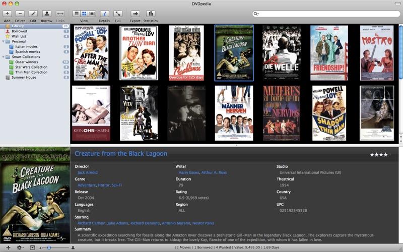 DVDpedia Screenshots