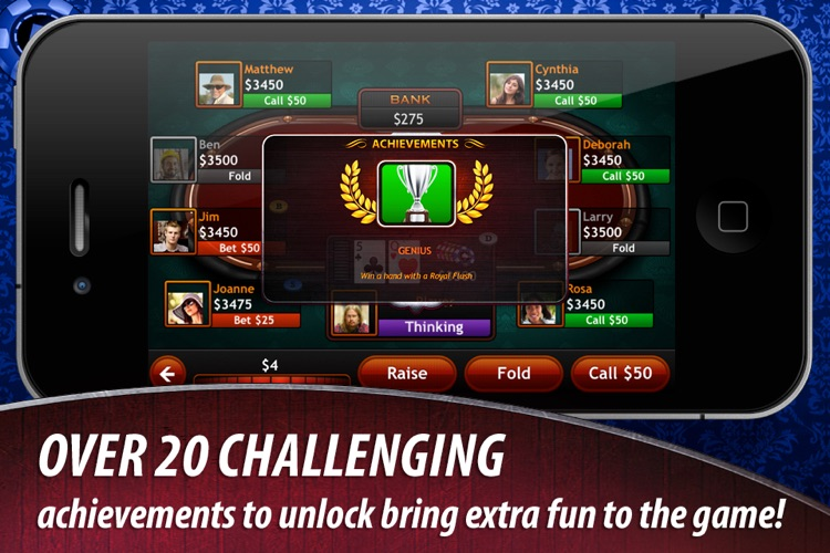 Texas Hold'em for iPad screenshot-3