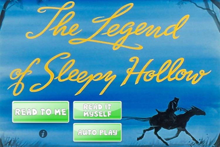 iStoryTime Classics Kids Book - The Legend of Sleepy Hollow