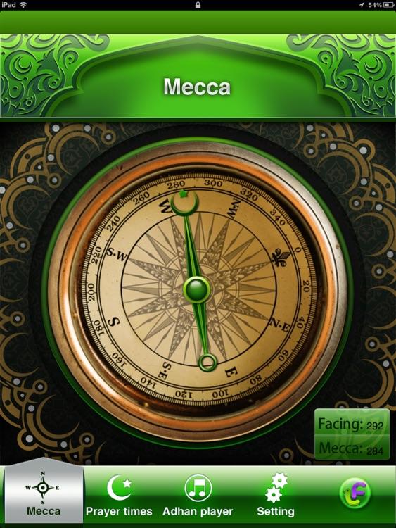Compass for Islamic Prayers HD