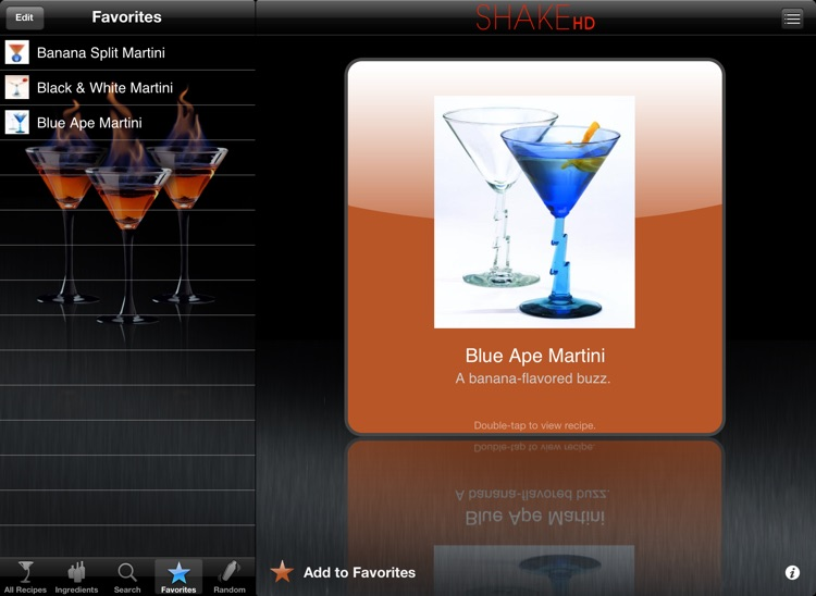 SHAKE-HD - Martini Recipes screenshot-3
