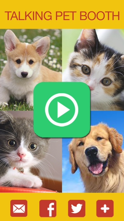 Talking Pet Booth Free: Make my cats, dogs, and other pets speak in real time! screenshot-3
