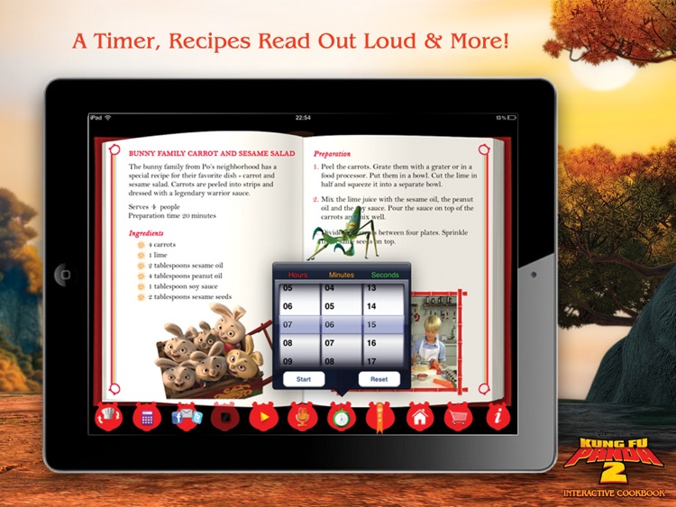 Kung Fu Panda 2 Interactive Cookbook