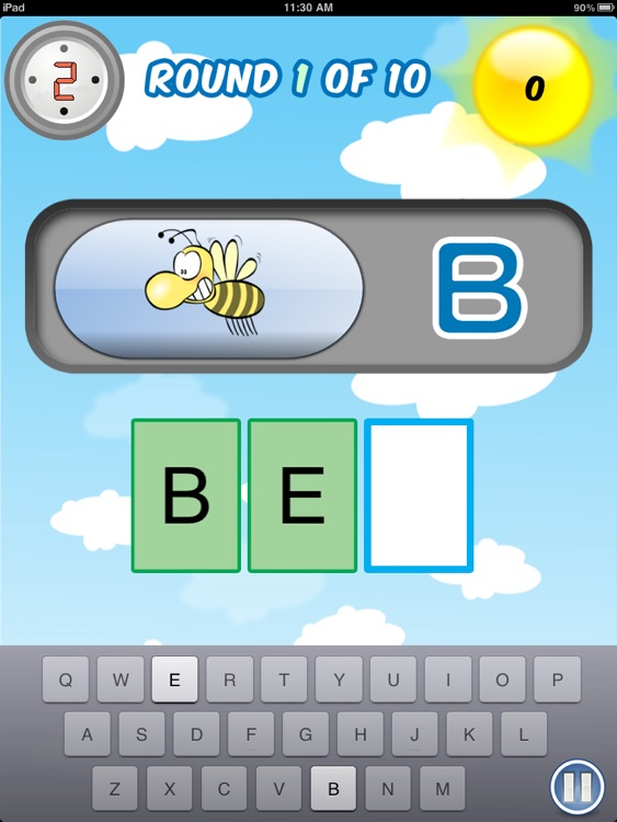 Active Typing Bee screenshot-2