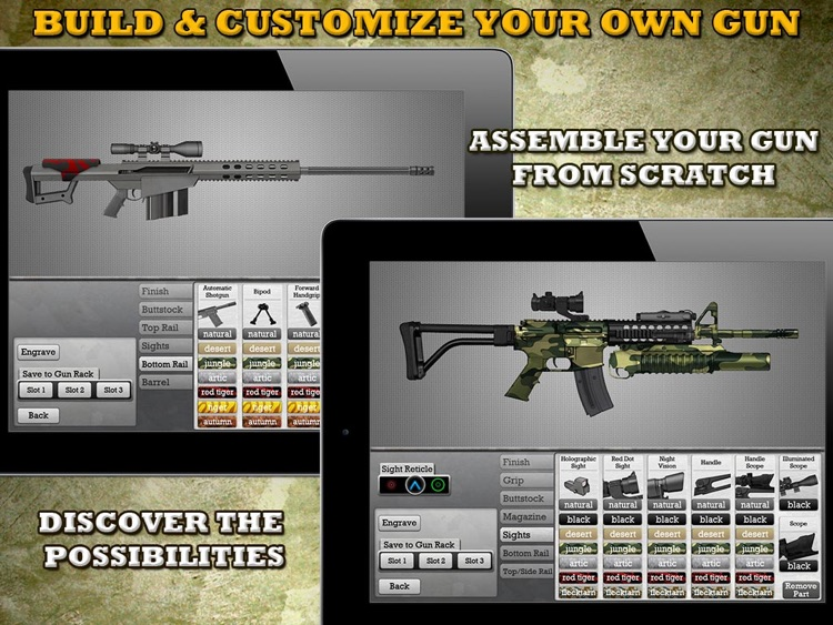 Gun Builder HD screenshot-0