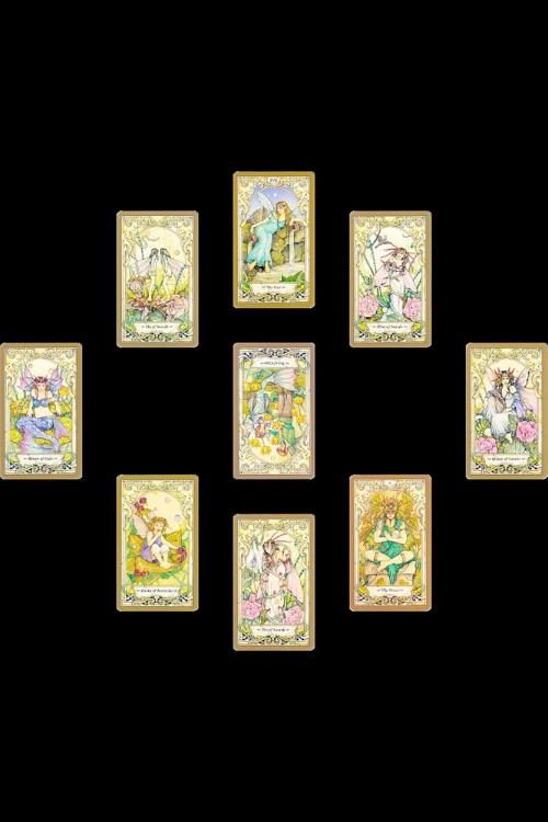 Mystic Faerie Tarot The World: Mystic Faerie Tarot By Garlic Software LLC