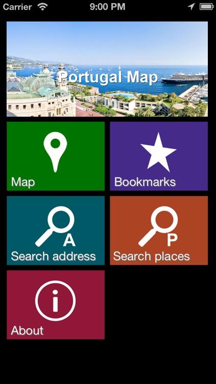 Offline Portugal Map - World Offline Maps
