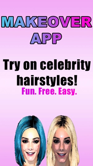 Makeover App - Try on 500 celebrity hairstyles and discover a new ...