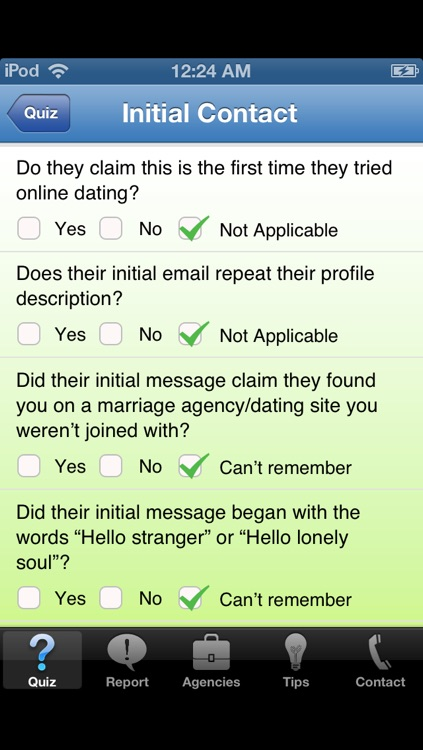 Initial email online dating