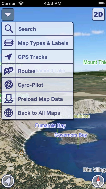 US National Parks 3D Maps