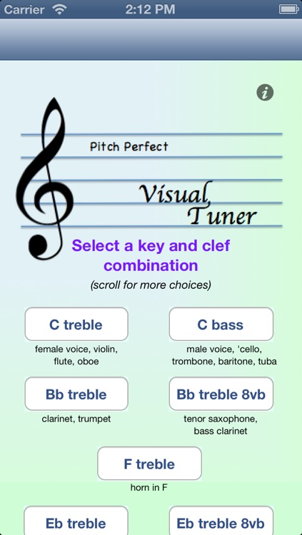 Pitch Perfect Visual Tuner