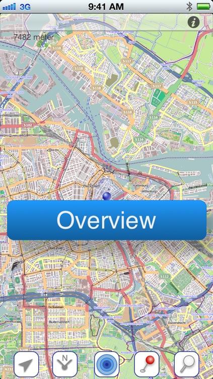 Amsterdam Offline Map screenshot-4