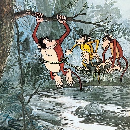 Jataka Tales - The Monkey Stories -  Amar Chitra Katha Comics
