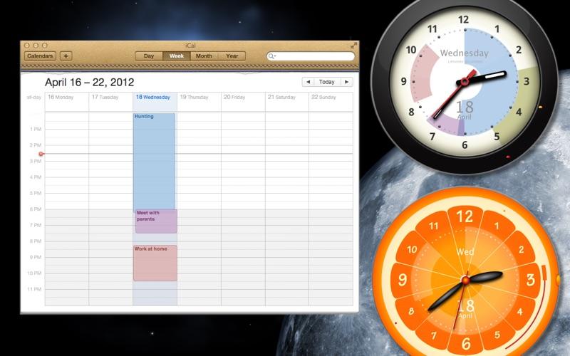 超级闹铃时钟装置 - 带有闹铃和日历的时钟