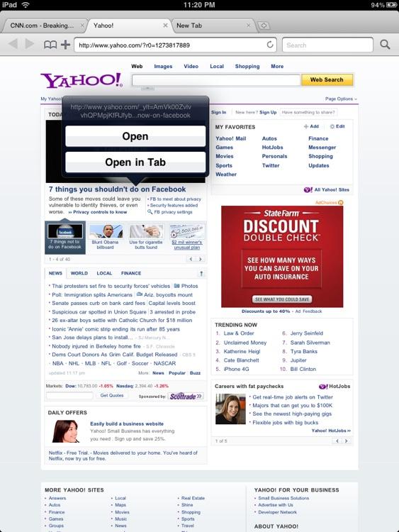 Mercury (Tabbed Web Browser) screenshot-4