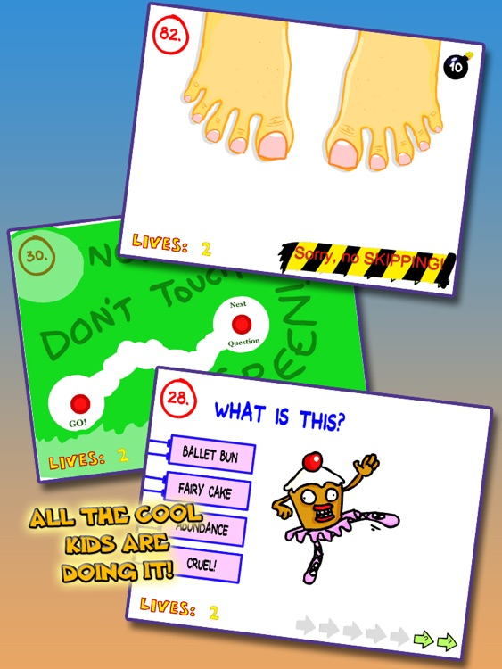 The Impossible Quiz! for iPad screenshot-3