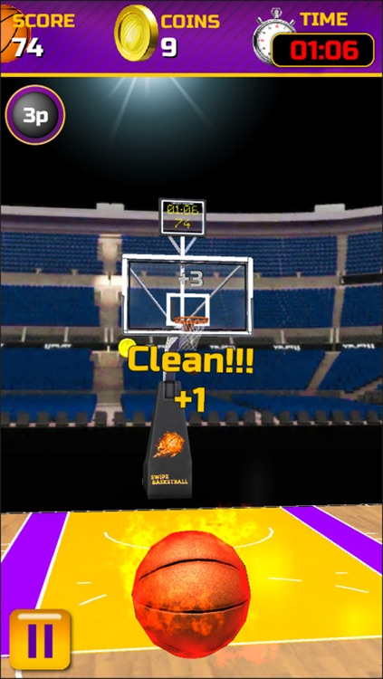 Swipe Basketball screenshot-2