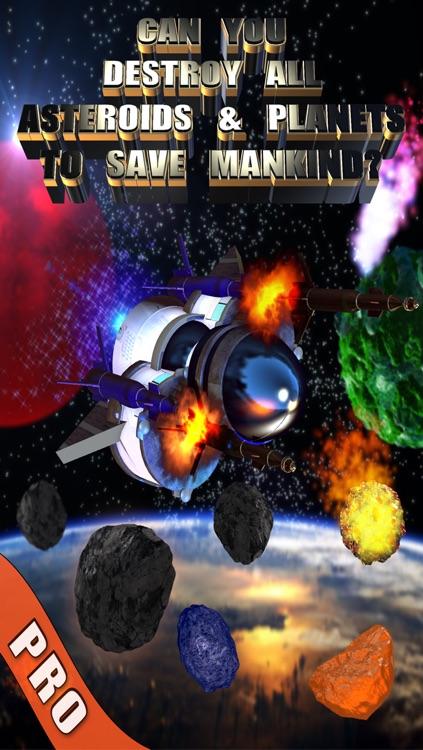 Asteroids & Planets Clash - A Space Shooting Saga PRO