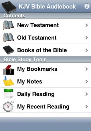 KJV Bible Audiobook screenshot-3