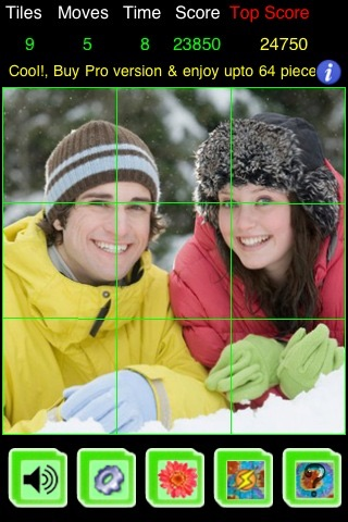 PicZee Free - The cool and fun photo jigsaw puzzle