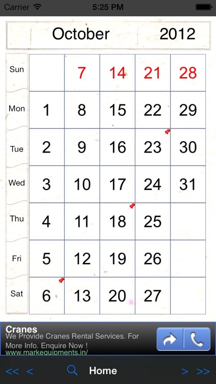 Perpetual-Calendar screenshot-1