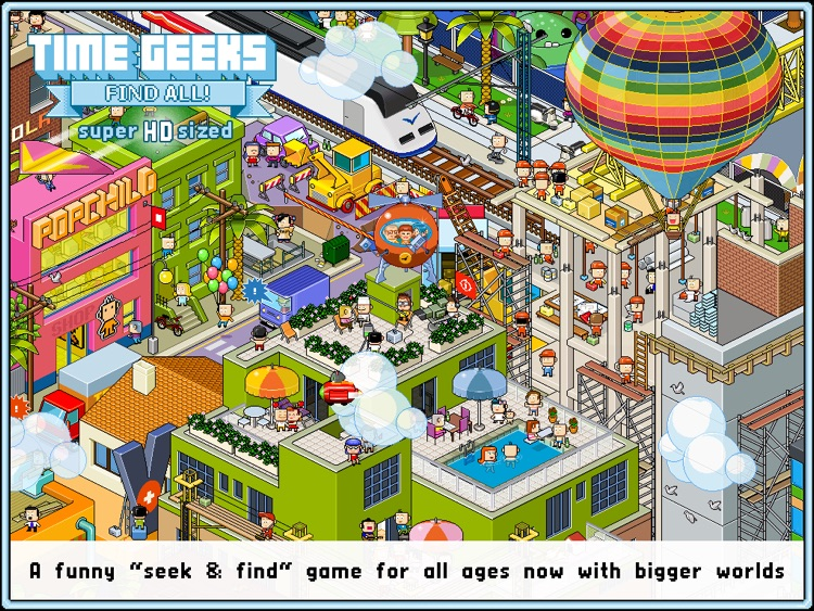 Time Geeks: Find All! HD