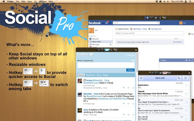 Social Pro Screenshot