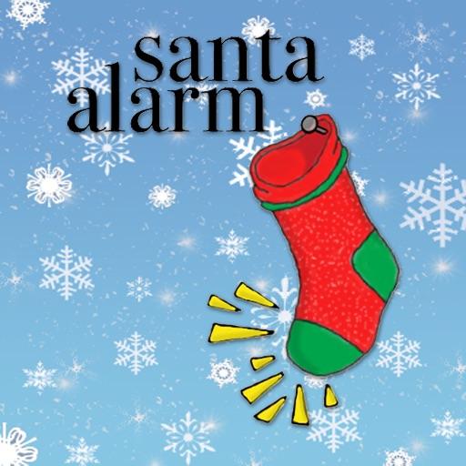 Santa Alarm Icon