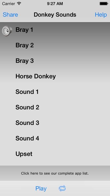 Donkey Sounds