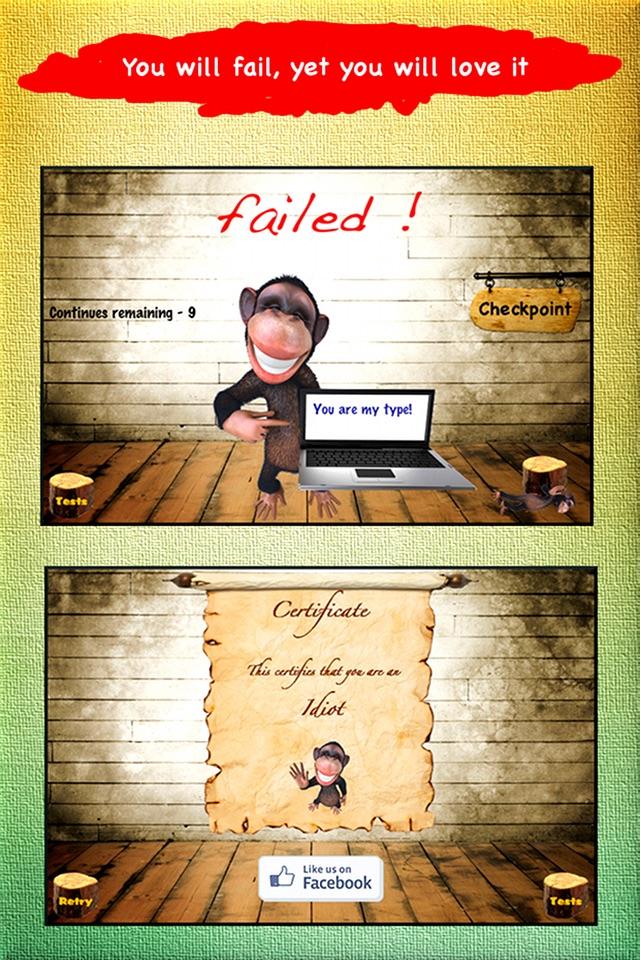 Idiot Test - Way too funny! Screenshot