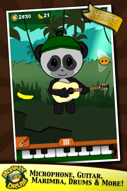 Monkey Drum Deluxe screenshot-0