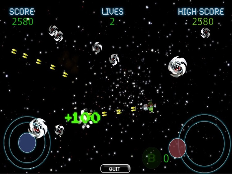 Geomatrix Space Wars HD FREE screenshot-4