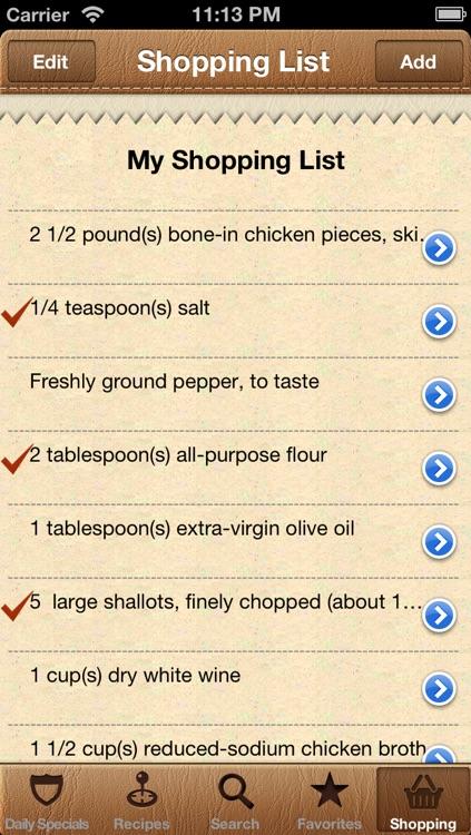 World Recipes - Cook World Gourmet screenshot-4