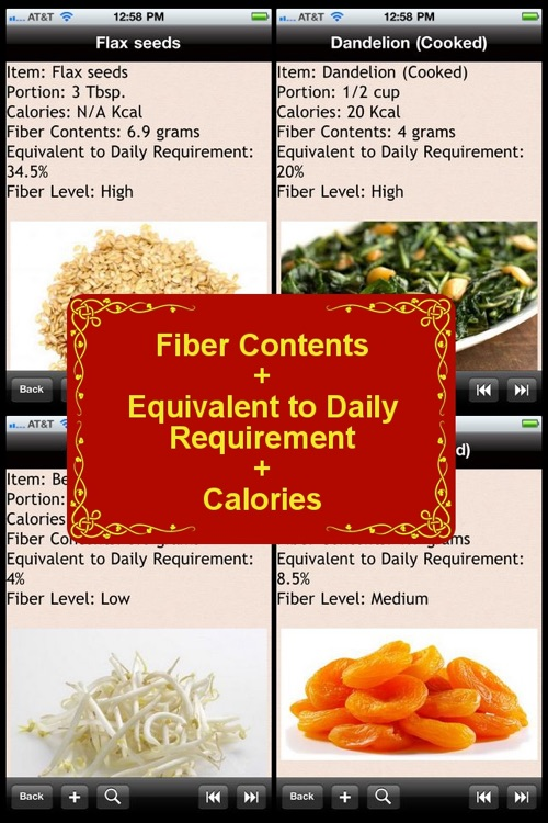 High Fiber Food List screenshot-0