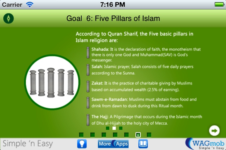 Learn Islamic Culture by WAGmob screenshot-3