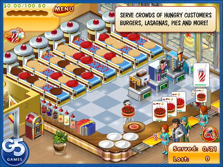 Stand O'Food® 3 HD screenshot-1