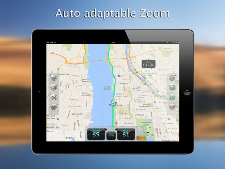 iWay GPS Navigation for iPad - Turn by turn voice guidance with offline mode screenshot-3