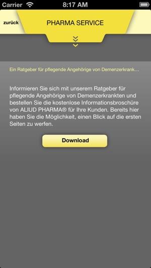GELBE LISTE PHARMINDEX – Kostenlose Arzneimitteldatenbank Screenshot