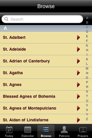 Saint A Day