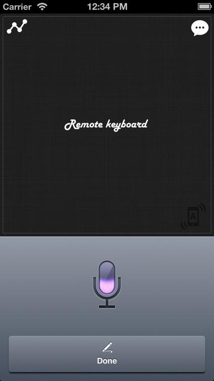 Remote Keyboard+ Pro (Wireless Keyboard & Trackpad)