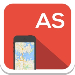Asia offline map, guide, weather, hotels. Free navigation.
