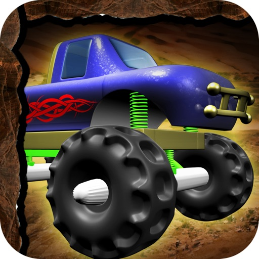 4 Wheels Monster Madness Pro - Cool speed big truck road racing