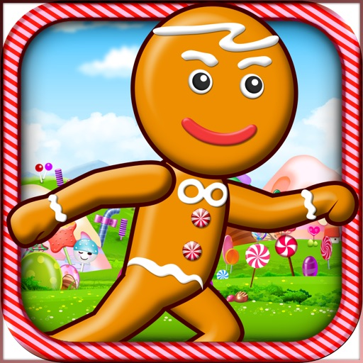 Candy Gingerbread Cookie Race Free - Easy Kids Running by Top Crazy Games icon
