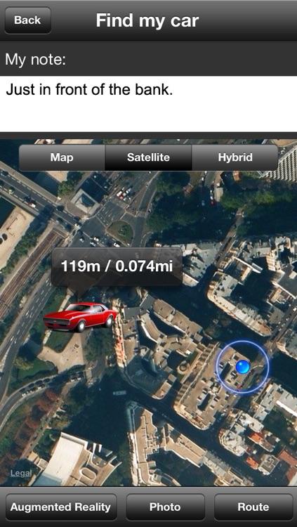 Find My Car GPS