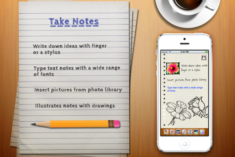 Voice Notes. screenshot 2