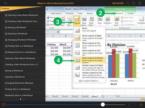 Screenshot #5 pour Master in 24H™ for Microsoft® Excel® 2010