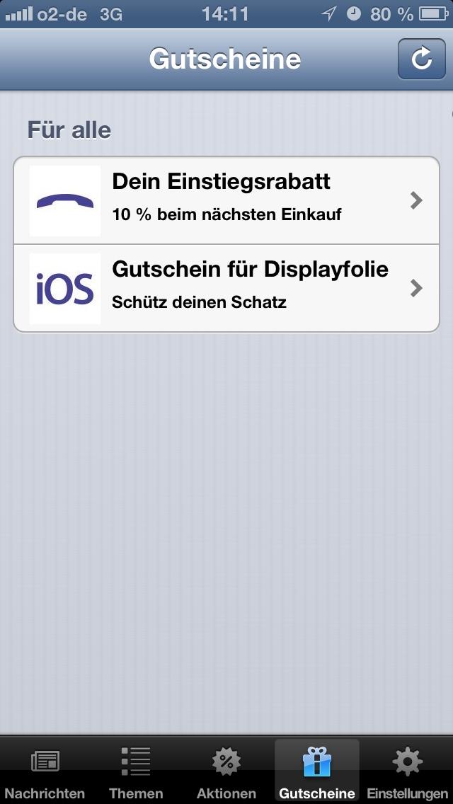 Screenshot #3 pour myPhone